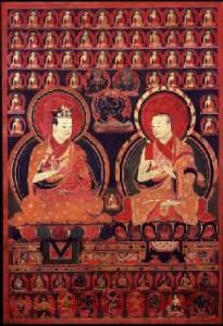 4. Karmapa Rolpe Dorje a 2. Šamarpa Khacho Wangpo