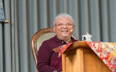Online učení sJigme Rinpočhem