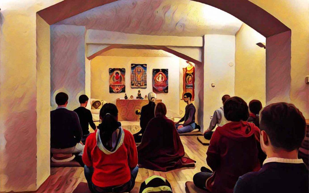 1. i 8. května se večerní meditace konají