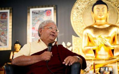 Online učení sJigme Rinpočhem: Omezení pohybu, rozvíjení mysli