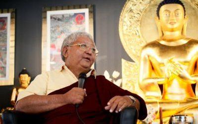 Srpnové online učení s Jigme Rinpočhem